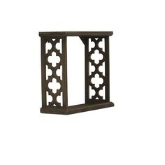 Small Carved Wooden Cubby By Ashland