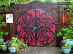 Butterfly Gate - Celtic design (Like the celtic design