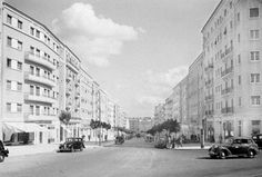 Av. Guerra Junqueiro, Lisboa (A.Passaporte, c. 1950) lisboa 1950 - Pesquisa Google