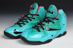 pink and blue lebron 11 - Google Search