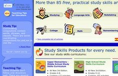 Study Skills - How to Study  GREAT WEBSITE
