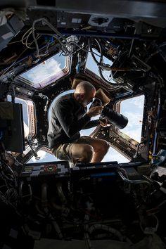 La coupole de la Station Spatiale Internationale, un point de vue parfait pour…