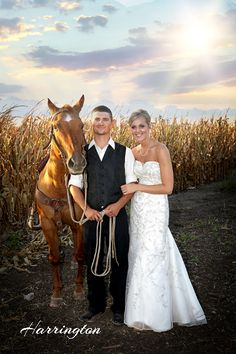 Country wedding fun image