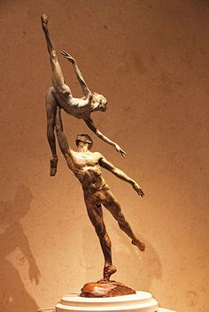 Richard MacDonald sculpture    official artist of Cirque du Soleil