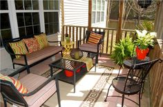 Exterior: Pleasing Screen Porch Furniture Ideas Screened Porch Design Ideas Resume Format Ideas from Screened Porch For Beautiful Outdoor