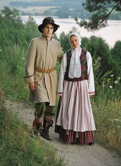 Traditional costume from Lithuania