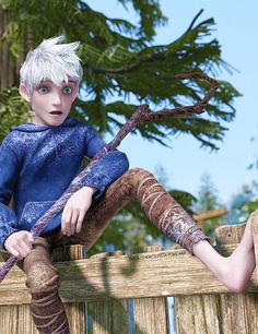 """HAHA! """"Who's Jack Frost?"""" """"No-one, honey, it's just an expression.""""  """"HEY! Are you serious????"""""""