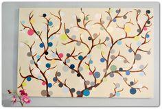 Easy Diy Paint Chip Tree Art  | followpics.co