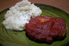 MY HCG DIET RECIPES: HCG DIET Phase 2 (P2) RECIPE #5: An American Classic: MEATLOAF & HOMEMADE BBQ SAUCE