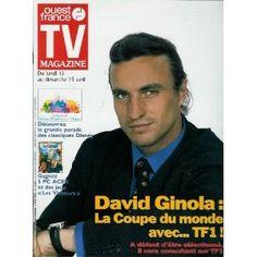 TV Magazine Ouest-France (n°16242) du 10/04/1998 - David Ginola -... [Magazine mis en vente par Presse-Mémoire]