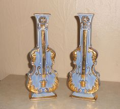 Vintage Violin Wall or Stand Alone Pocket by VintageTrendyCharm