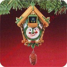 1988 Christmas Cuckoo
