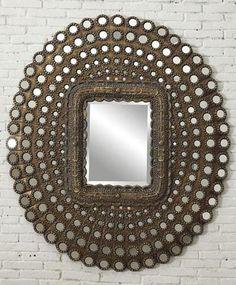 Bubble Ripples Wall Mirror