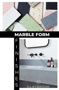 There are so many different types of Marble Tile Surface Finishes out there -- but we are biased to lovely and elegant marble finishes. Whether you are looking for marble countertops for your bathroom or kitchen, we have the finished that will make your place come to life (and have a long life at that)! We offer a great selection of marble finishes, choose one that matches your personality and interior design taste today. Minimalist Bathroom Design, Bathroom Design Luxury, Luxury Interior Design, Stone Mosaic, Mosaic Tiles, Mosaics, Couch Design, Bespoke Design, Arts And Crafts Movement