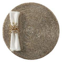 Metallic Studded Placemat