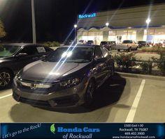 https://flic.kr/p/Pf64WQ | Happy Anniversary to Harsha on your #Honda #Civic Sedan from Teal McDonald at Honda Cars of Rockwall! | deliverymaxx.com/DealerReviews.aspx?DealerCode=VSDF