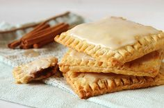 Cinnamon Brown Sugar Oatmeal Poptarts!