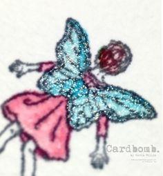 Cardbomb: Fairy Celebration Graduation Card! Maria Willis www.cardbomb.blogspot.com Stampin' Up!, Fairy Celebration, watercolor, card, handmade