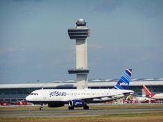 Jet Blue owns JFK.