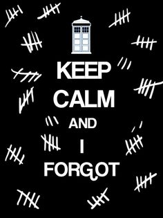 Keep calm (doctor who)