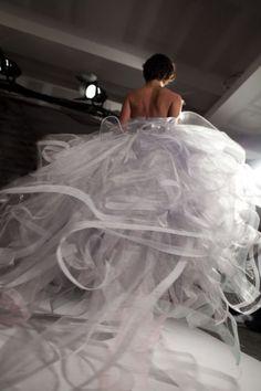 Oscar de la Renta Cloud Dress