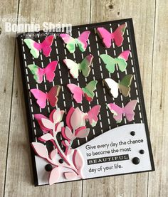Good Morning - it's time for another Papertrey Ink Blog Hop  and this month we are all about black and bright colours - woohoo!   The inspir...