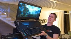 Acer Predator 21 X, A Gigantic 18lb $9000 High-Powered Gaming Laptop With a Curved 21″ Display