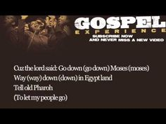 Louis Armstrong - Go Down Moses (Lyrics).This song was made famous by Paul Robeson,whose deep resonant voice was said to have attained the status of the voice of God at the time.On Feb 7 1958 it was recorded by L.Armstrong with Okiver´s Orchestra to become iconic legend....Spirituels is a native music !  (  Hebrew translation of the song is a common element in the Paasover seder in Israel )