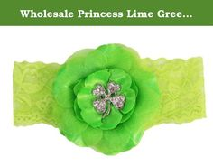 Wholesale Princess Lime Green Daisy Shamrock Headband. This soft and adorable cotton headband is the perfect piece to complete any outfit! No muss/No fuss, simply slip on over baby's head for a comfortable one-size-fits-all classic headband. Wholesale Princess - Where Adorable Meets Affordable. We also have a huge selection of matching hair accessories, shoes, bows, legwarmers and bloomers to choose from that will complete your stylish look.