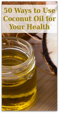 "You may know that natural virgin coconut oil is the healthy alternative when cooking food. Did you know that coconut oil has scores of other uses too? There are lots of ways of using coconut oil in the kitchen for healthy eating. You can also use it in many other useful ways for skin care, hair care, around the house, and even to keep your pets healthy. Click here to keep reading about ""50 ways to use coconut oil for your health."""