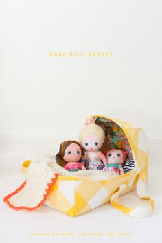 baby doll basket. . .