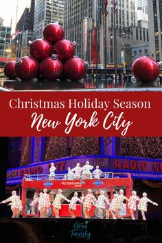 Tis the season! Christmas is the most magical time to visit New York City and our list of 11 festive things to do in New York during the holiday season will help you plan your Christmas visit to NYC! of holiday NEW YORK CITY with Christmas Holidays In New York, New York Christmas, Christmas Travel, Holiday Travel, Christmas Holiday, Christmas Things, Winter Travel, Visit New York City, New York City Travel