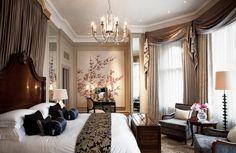 Klassieke slaapkamer.