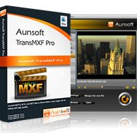 Aunsoft TransMXF Pro for Mac is an advanced Mac MXF converter, which preserves, seperates, and merges multi-audio tracks while converting.