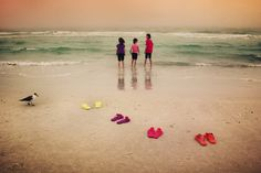 "/ Photo ""Pick a color"" by Tatiana Avdjiev Creative Portfolio, Four Seasons, Spin, Sandal, Rainbow, Explore, Awesome, Beach, Water"