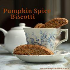Pumpkin Spice Biscotti Recipe