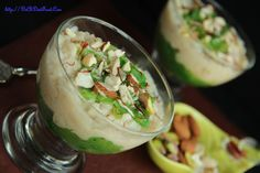 Brown rice Apple Pudding