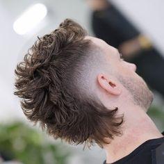 Mullet Haircut, Mullet Hairstyle, Fade Haircut, Curly Mohawk Hairstyles, Wedding Hairstyles, Mohawk Hair Men, Short Mohawk, Mohawk Mullet, Natural Hairstyles