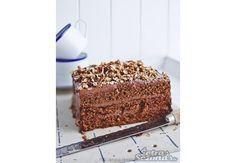 Rudenīga un kārdinoša - burkānu un šokolādes kūka