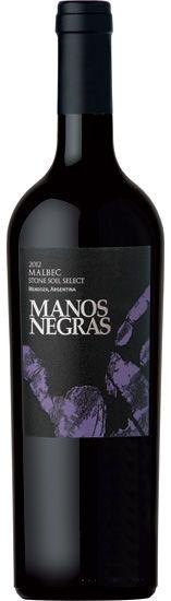 Malbec 2011 *Stone Soil Select* - Bodega Manos Negras, Mendoza, Argentina -------------------- Terroir: Altamira (San Carlos) - Mendoza, Argentina -------------------- Crianza: 12 meses en barricas de roble frances, 20% barricas nuevas