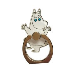 Moomintroll phone ring holder – The Official Moomin Shop