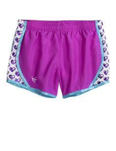 Pattern Insert Running Shorts | Active | Shorts | Shop Justice