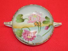 Vintage Ceramic Bowl Hand Painted Japanese Decorative Collectible Bowl JAPAN Art
