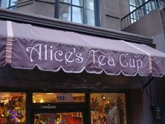 I love this place! Alice's Tea Cup: Wonderful NYC brunch spot for young ladies,sisters and mothers.  (East and West Side Locations)
