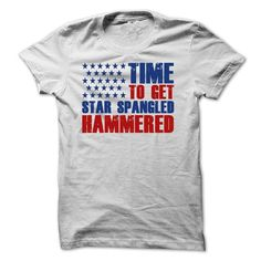 Time To Get Star Spangled Hammered T Shirts, Hoodie. Shopping Online Now ==►…