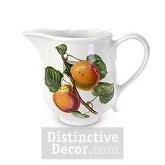 Made by Portmeirion. 749151045095 Part: The Portmeirion Pomona creamer jug is adorned with Roman Apricot designs from acclaimed artist Susan Williams-Ellis. The creamer has a 12 ounce capac Portmeirion Pottery, William Ellis, Romantic, Cream, Creme Caramel, Romantic Things, Romance Movies, Romances, Romance