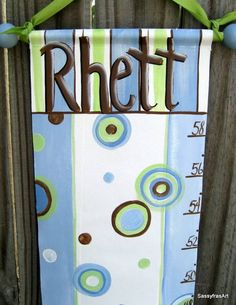 another cute growth chart idea