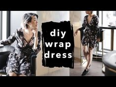 How to Make a Wrap Dress | WITHWENDY - YouTube