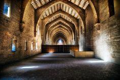 Real Monasterio de Santa María de Poblet por Jose Luis Mieza (Monestir de Poblet, Catalunya)