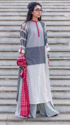 Vish India Fashion, Ethnic Fashion, Asian Fashion, Indian Attire, Indian Wear, Indian Dresses, Indian Outfits, Kurti Styles, Look Short